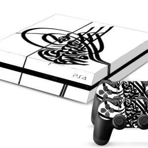playstation 4 skin aufkleber folie ps4