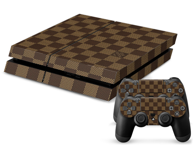 louis vuitton playstation 4 skin. Black Bedroom Furniture Sets. Home Design Ideas