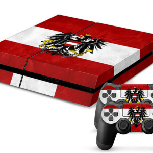 playstation 4 skin aufkleber folie ps4