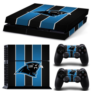 playstation 4 skin aufkleber folie ps4 nfl american football
