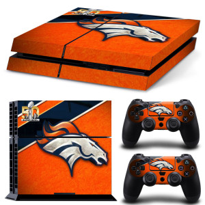 Denver Broncos playstation 4 skin aufkleber folie ps4 nfl american football