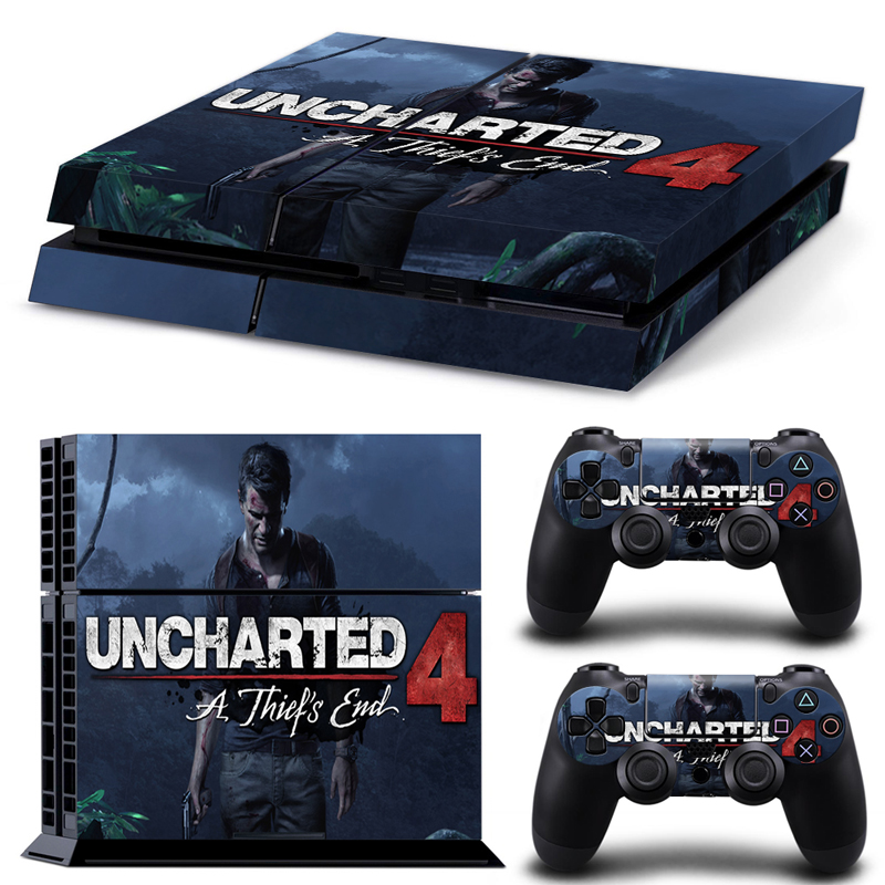 Uncharted 4 Ps4 Skin  Uncharted 4 Ps4...